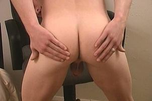 Awesomeinterracial.com- Cute Gay Ginger Spreads Ass for Cam