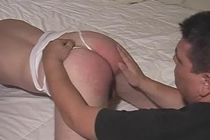 Awesomeinterracial.com- Sensual Gay Man Has His Ass Finger Fucked On Bed