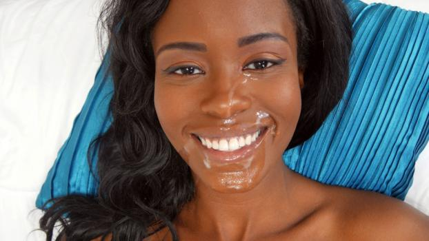 Topwebmodels.com- Black Beauty Needs Lip Cream