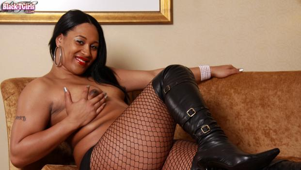 Black-tgirls.com- Chastity Kane_s Sweltering Solo Shoot