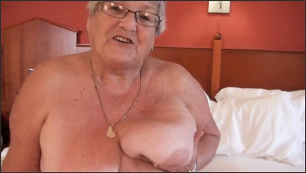Fetish porn- Grandma Libbys Big Fat Wobbly Belly Movie