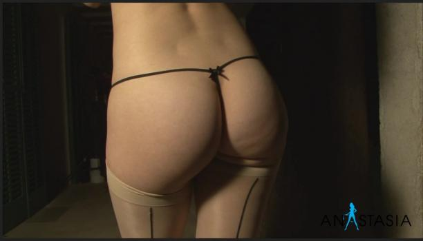 Socialglamour.com- Anastasia in micro thong and stockings