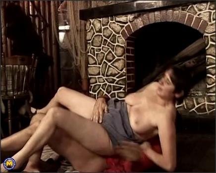 Mature.nl- Big titted mature slut fucking in a restaurant
