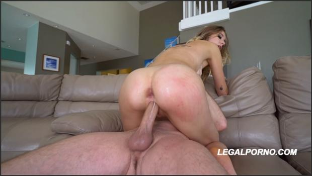Legalporno.com- Haley Reed destroyed by three 3on1  gapes  tunnel  rough AA022