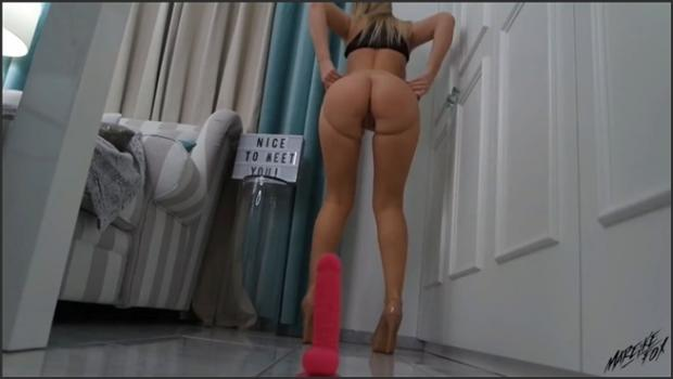 Chaturbate- MareikeFox - Enges Fickstuck in Nylons.mp4