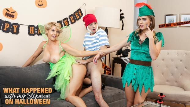 Nubiles-Porn.com- What Happened With My Stepmom On Halloween - S14:E1 - Kit Mercer, Natalie Knight