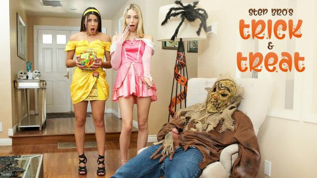 Nubiles-Porn.com- Step Brothers Trick And Treat - S15:E1 - Kylie Rocket, Lily Larimar