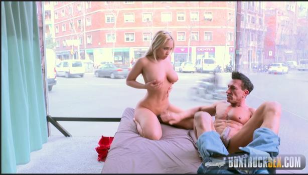 Boxtrucksex.com- Briana Banderas has Hardcore Sex in Public with Marco Banderas