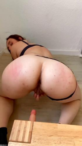Doggystyle with Creamy Pussy   BubbleButtKay
