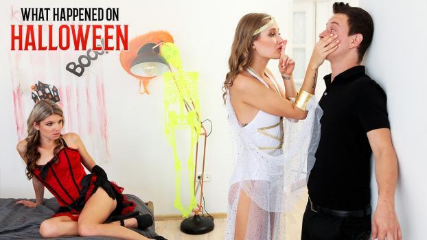 Nubiles-Porn.com- What Happened On Halloween - S15:E3 - Gina Gerson, Tiffany Tatum