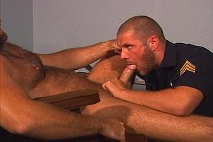 Awesomeinterracial.com- Young Fireman Fucked By Dominant Chief