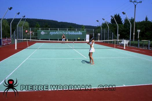 WoodmanCastingx- Rod little - hard set - tennis  1