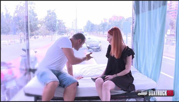 Boxtrucksex.com- Luna Melba gets paid for her photoshooting