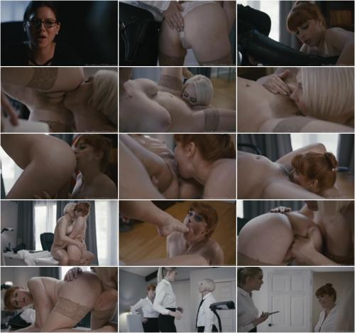 Penny Pax And Helena Locke In The Office [SD 400P]