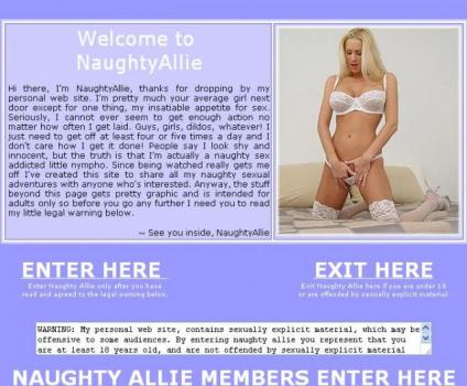NaughtyAllie (SiteRip) Image Cover