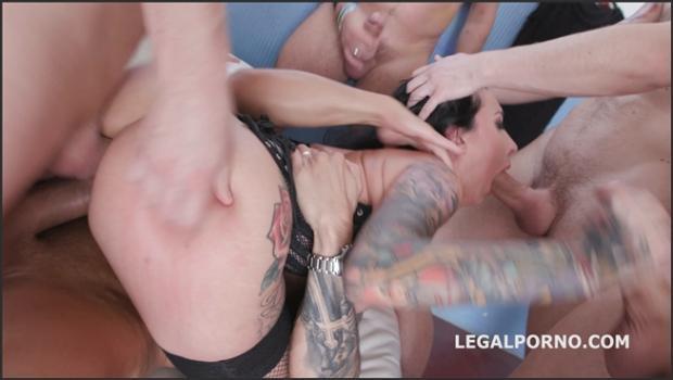 Legalporno.com- 7on1 DAP gangbang with Lily Lane Balls Deep Anal, DAP, Gapes, Facial GIO662