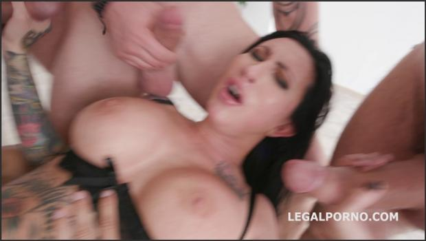 Legalporno.com- Facialized with Lily Lane 5on1 Balls Deep Anal, DAP, TP, Gapes & facial GIO824
