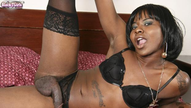 Black-tgirls.com- Tattoed babe Infamous
