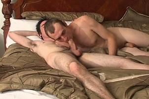 Awesomeinterracial.com- Roommate Gives Sloppy Blowjob In Shower