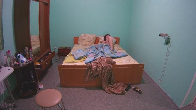 Voyeur-house.tv- Katie resting  texting naked june 22